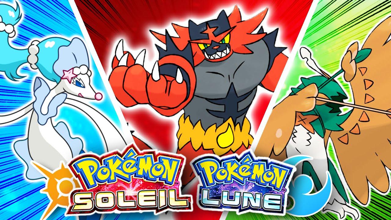 Le Pokédex Entier De Pokémon Lune Et Pokémon Soleil Wiki