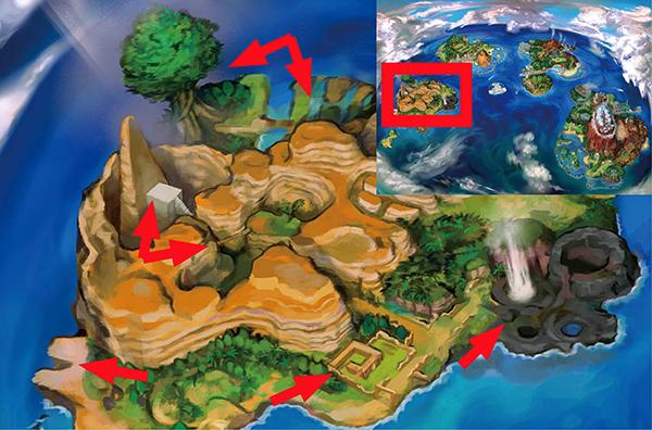 La Carte Du Monde De Pok 233 Mon Soleil Et Pok 233 Mon Lune Wiki Dragon Actualit 233 S Br 251 Lantes Sur